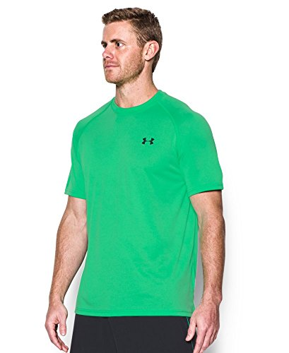 Under Armour Men's Tech Short Sleeve T-Shirt, Vapor Green /Stealth Gray, Small by Under Armour (Image #2)
