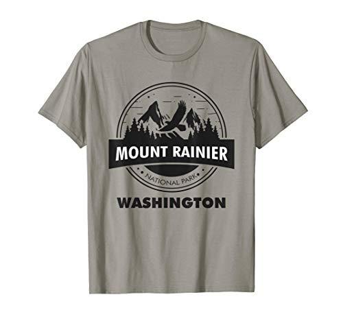 Mount Rainier National Park WA Camping Hiking Lover T-Shirt
