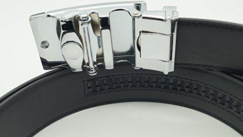 Länge Automatik Leder Breite XXXL Riemen Muster Automatikschließe ...
