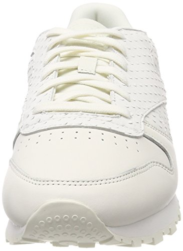 Leather Sneakers Classic Basses white Femme Reebok Ii Blanc 000 CqStwx5Z