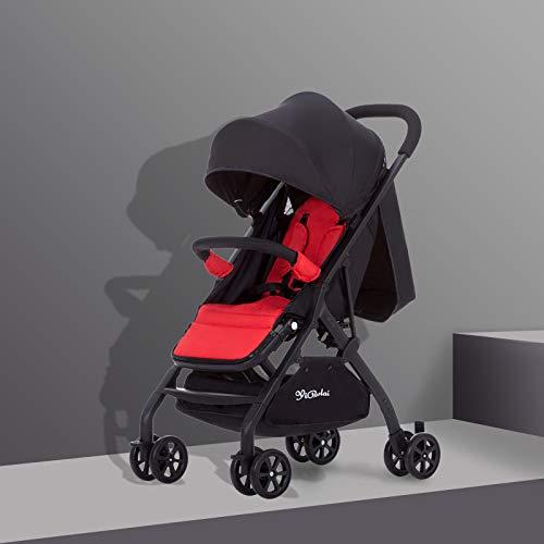 GAOYY Baby Stroller Lightweight Folding Stroller Universal Adjustable Stroller Safety Four-wheeled Cart (weight: 4.9kg…