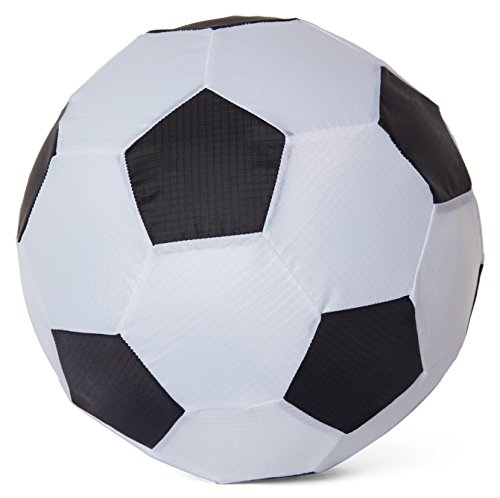 Balloon Skinz Fabric Balloon Cover Sports Play Ball 2-Pack - Includes 10 Latex Balloons (Soccer Ball 2 pcs)