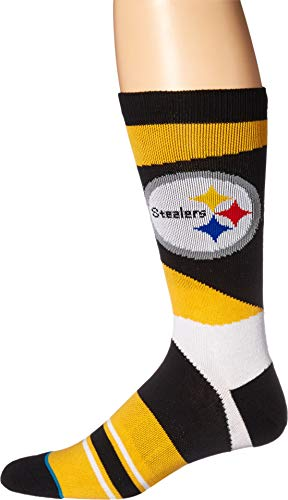 (Stance Men's NFL Steelers Retro Yellow Large)