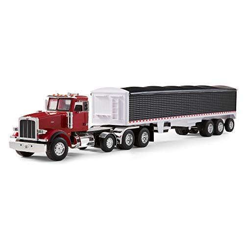 Ertl Big Farm Peterbilt Vehicle With Grain Trailer, Model 367