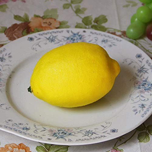 JVSISM 4 Pezzi Grandi Frutti Artificiali Limoni