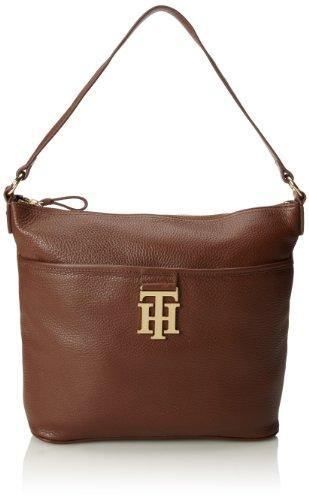 Tommy Hilfiger - Bolso de hombro Mujer Marrón - Mocha