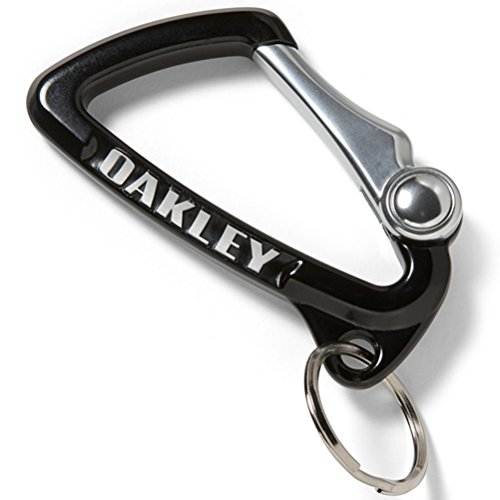 Oakley Mens Large Carabiner Keychain Accessories, Black, One - Sunglasses Keychain