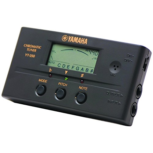 Yamaha YT-250 - Accordatore per chitarra e basso Yamaha Musical Instruments YT250 210209