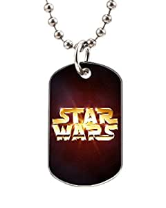 Star Wars Gold Logo Customized Dog Tag Pet Tags Dogtag Necklace Charm Unique Gift
