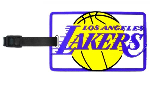 Los Angeles Lakers - NBA Soft Luggage Bag Tag by aminco