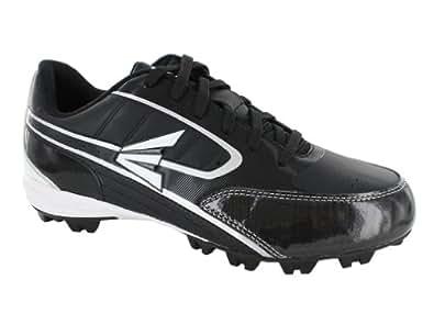 Easton Men's Turbo Lite Black/Silver Team Baseball Cleats,Black/Silver,8 M US