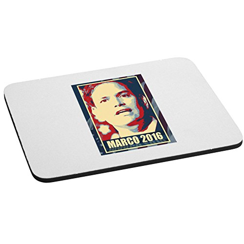 Computer Mouse Pad - Marco Rubio - 2016 Presidential Candidate Design (Marco Rubio For President 2016 Bumper Sticker)