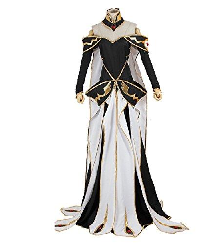 [Cosplaygalaxy Code Geass C.C. Queen Dress Cosplay Costume] (Cc Code Geass Costumes)