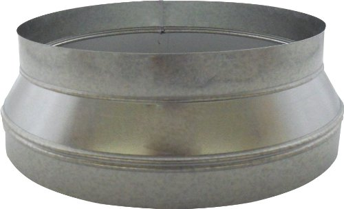 (Speedi-Products SM-RDP 1412 14-Inch by 12-Inch Round Galvanized Plain Reducer)