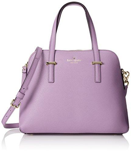 KATE SPADE Cedar Street Maise Leather Shoulder Bag - Lilac Petal