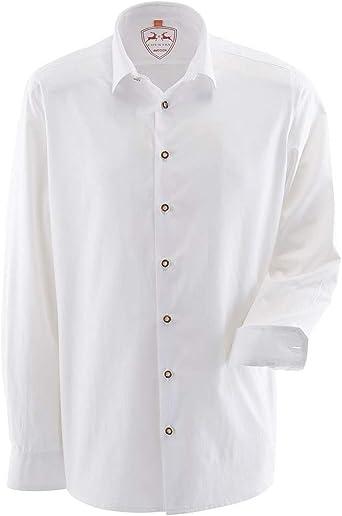 MADDOX - Camisa tradicional para hombre, color blanco, talla ...