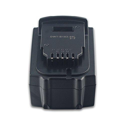 Bay Valley Parts®Li-ion 18V 4Ah/72Wh Battery for Replacement DEWALT DCF885 DCF885B DCF885C2 DCF885L2 DCF885M2 DCF886DCF886D2 DCF886M2 DCF889 DCF889HL2 DCF889HM2 DCF889L2DCF889M2 DCF895