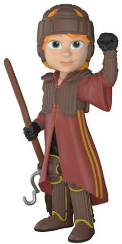 Funko Rock Candy: Harry Potter-Ron in Quid Ditch Uniform, Multicolor, Standard