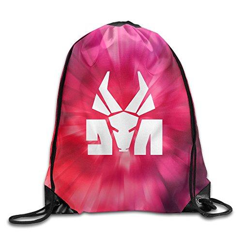 BYDHX-Die-Antwoord-Band-Logo-Drawstring-Backpack-Bag-White