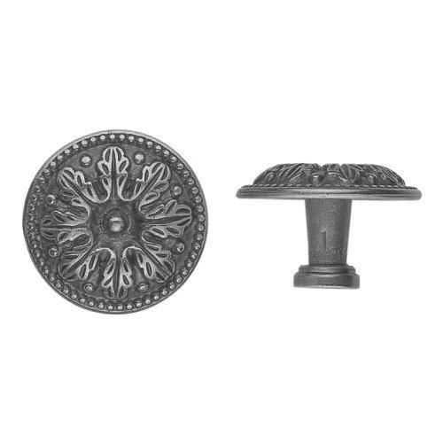 Bosetti Marella 100517 Vintage 1-1/4 Inch Diameter Mushroom Cabinet Knob, Old Iron