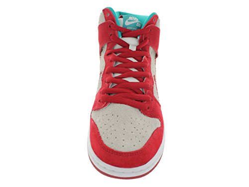 Nike Dunk High Mens Pro Sb Sneakers Gym Red , Gym Red-white