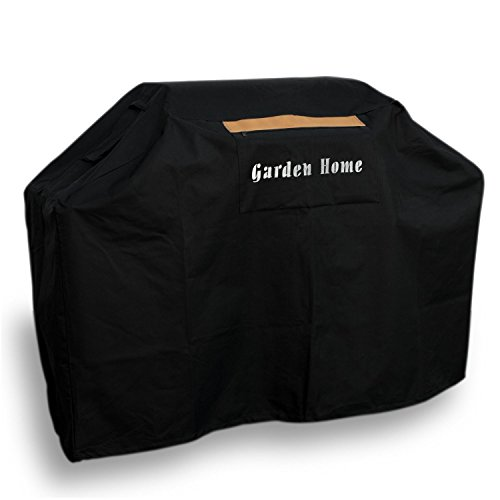 Garden Home Heavy Duty 70' Grill Cover (Black With Brush, 70