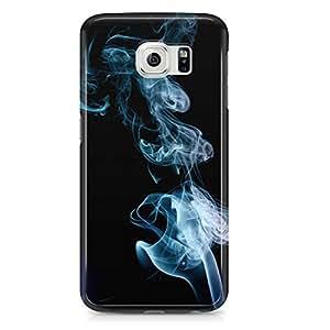 Samsung Galaxy S6 Edge Case Cigeratte Smoke-Sleek Design Durable Wrap Around Phone Cover