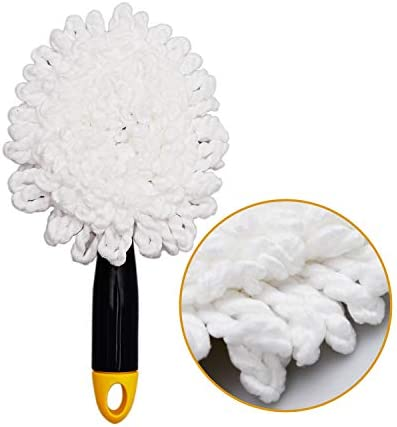 health, household, household supplies, cleaning tools, dusting,  feather dusters 9 image Yocada Microfiber Car Duster Mini Dash Duster Brush deals