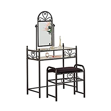 2-piece Vanity Set Pewter
