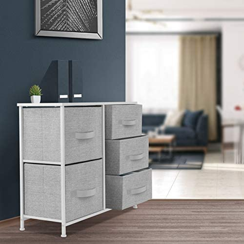 home, kitchen, storage, organization, racks, shelves, drawers,  storage drawer units 4 discount Sorbus Dresser with 5 Drawers - Furniture Storage Tower in USA