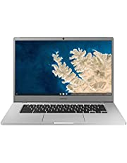 "SAMSUNG XE350XBA-K01US Chromebook 4 + Chrome OS 15.6"" Full HD Intel Celeron Processor N4000 4GB RAM 32GbEmmc Gigabit Wi-Fi, Silver photo"