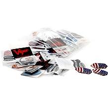 Viper Assorted Dimplex Dart Flights: 50 Sets of Flights, 150 Pieces
