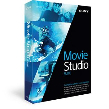 Movie Studio 13 Suite from Sony