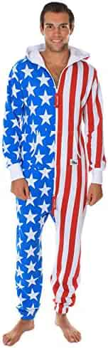 fc47c2488e6 Tipsy Elves American Flag Jumpsuit - Comfy USA Clothing Item by