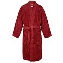 100% Turkish Cotton Men Terry Kimono Robe