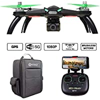Contixo F20 RC Quadcopter Drone with GPS and 1080p HD...