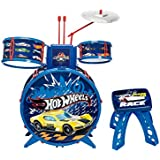 Bateria Infantil Radical Hot Wheels Azul