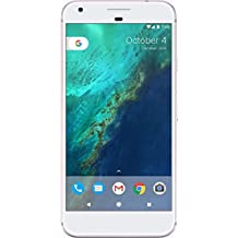"Google Pixel 128GB - 5"" Android GSM 4G LTE Factory Unlocked - International Version (No Warranty) - Very Silver"