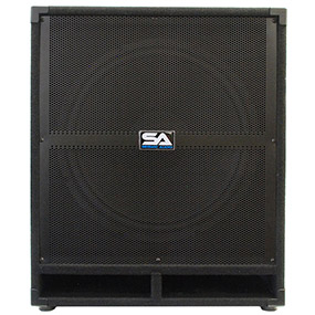 18 Inch Powered Subwoofer Cabinet - 500 Watts RMS - 18