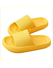 PILLOW SLIDES Sandals Ultra-Soft Slippers Extra Soft Cloud Shoes Anti-Slip, Super Soft Home Slippers Non-Slip, Beach Thick Soled Shoes for Women and Men Slides