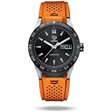 TAG Heuer CONNECTED Luxury Smart Watch (Android/iPhone) (Orange)