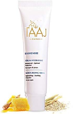 KASHEMIRE Moisturizing Face Serum - Anti-Aging Hyaluronic Acid & Aloe Vera Formula for All Skin Types - All Natural Organic Blend - 1.01 oz.