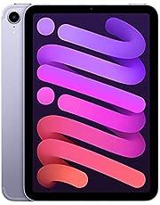 2021 Apple iPad Mini (8.3-inch, Wi-Fi + Cellular, 256GB) - Purple (6th Generation)