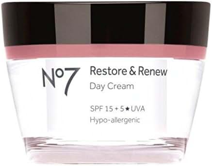 No7 Restore & Renew Day Cream Spf 15 50Ml