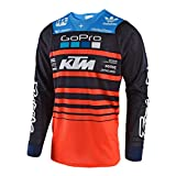 Troy Lee Designs GP Air Team Youth MX Offroad Jersey Orange/Navy YLG