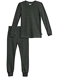 Boys' Thermal Underwear Long John Set - Made in USA