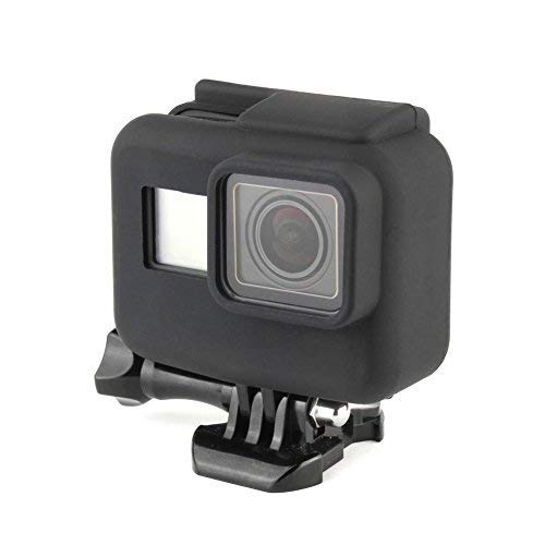 SOONSUN Soft Silicone Protective Rubber Case Cover for GoPro Hero 5/6/7 Black Hero 2018 Frame Housing Case