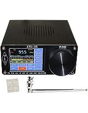 Ctzrzyt ATS-25 Si4732 Full-Band Radio Ontvanger DSP Ontvanger FM LW (MW en SW) en SSB met 2,4 Inch Contact Screen