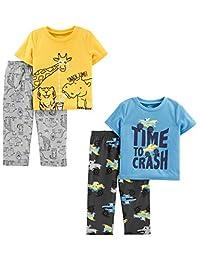 Simple Joys by Carter's Boys 4-Piece Pajama Set