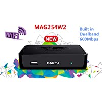 Informir MAG 254 W2 MAG254W2 IPTV OTT Set Top Box Internet TV STB w/600 Mbps Built in Wifi